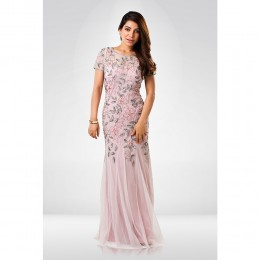 Baby Pink Sequence Gown