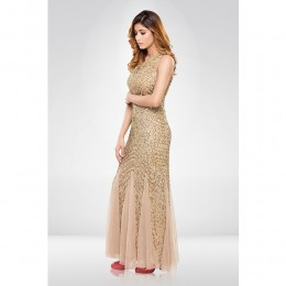 Golden Sequence Gown