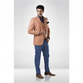 Orange Checkered Suit